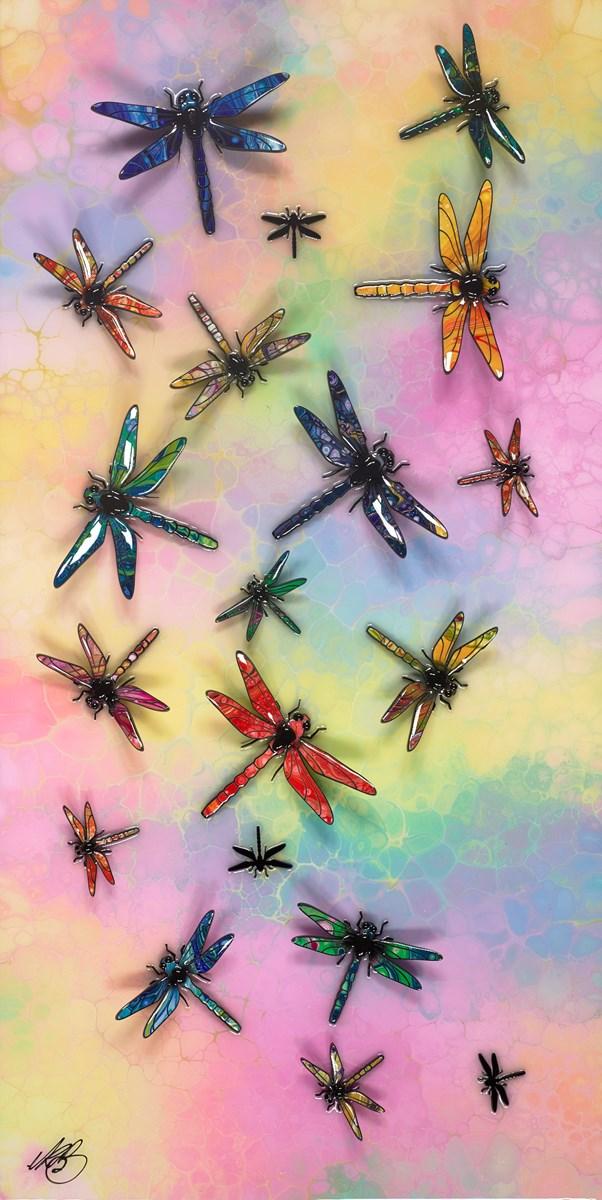 Dragonfly Rainbow I